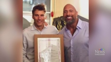 Vancouver proclaims Dwayne 'The Rock' Johnson Day