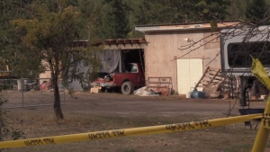 Human remains found on Okanagan property