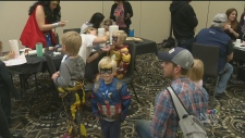 Kids train to become superheroes