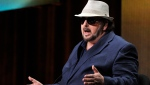 In this Thursday, July 25, 2013, file photo, James Toback takes part in a panel discussion during HBO's Summer 2013 TCA panel at the Beverly Hilton Hotel in Beverly Hills, Calif.  (Photo by Chris Pizzello/Invision/AP, File)