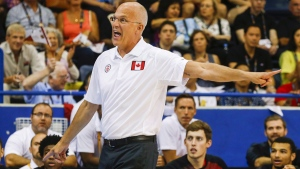 Jay Triano at the Pan Am Games in Toronto, on July 25, 2015. (Mark Blinch / THE CANADIAN PRESS)