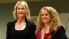 Ambassador of the United States Kelly Craft, left, stands with Governor General of Canada Julie Payette in Ottawa on Monday Oct. 23, 2017. THE CANADIAN PRESS/Adrian Wyld