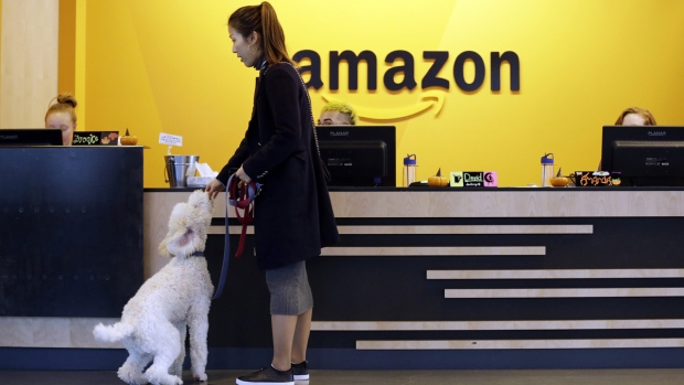 Amazon building in Seattle