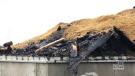 Barn destroyed by fire near Innerkip