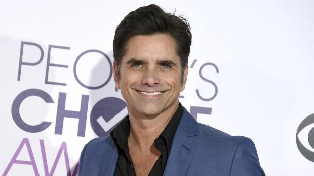 John Stamos in Los Angeles, on Jan. 18, 2017. (Jordan Strauss / Invision / AP)