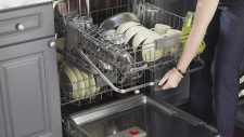 This undated product image shows a Kenmore dishwasher. (Kenmore/AP Photo)