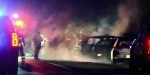 Homicide team investigating after 2 shot in Surrey