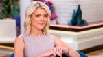 "Megyn Kelly poses on the set of her new show, ""Megyn Kelly Today"" at NBC Studios on Sept, 21, 2017, in New York. (Charles Sykes / Invision / AP)"