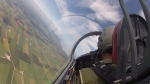 Up in the air in an L29 Viper