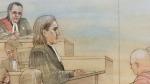 Millard representing himself at Babcock trial
