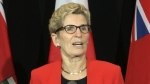 Premier greeted by protests in Kitchener