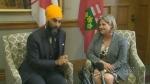 Jagmeet Singh, Andrea Horwath, NDP