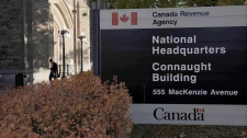 The Canada Revenue Agency headquarters in Ottawa is pictured on November 4, 2011. The Broadbent Institute, a left-leaning think-tank, has levelled another broadside at the Harper government over the Canada Revenue Agency's auditing of charities. THE CANADIAN PRESS/Sean Kilpatrick