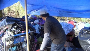 CTV News at Six: Homeless camp removed