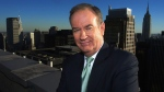 Fox News anchor Bill O'Reilly poses on the roof of the Fox building in New York, Oct. 13, 2003. (AP Photo/Jim Copper)