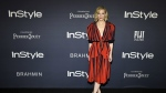Actress Cate Blanchett, recipient of the Style Icon award, poses at the 3rd annual InStyle Awards at the Getty Center in Los Angeles on Monday, Oct. 23, 2017. (Chris Pizzello / Invision)