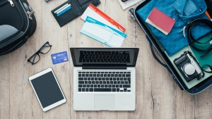 Laptops in checked baggage