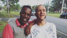 Julius Long and Randy Furniss