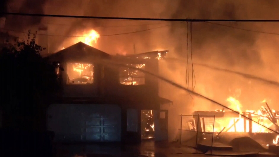 Man-made building supplies used in modern homes and the large amounts of synthetic materials inside them make fires spread faster and produce more toxic gases than ever before.