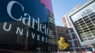 The Carleton University campus is seen Wednesday October 25, 2017 in Ottawa. THE CANADIAN PRESS/Adrian Wyld