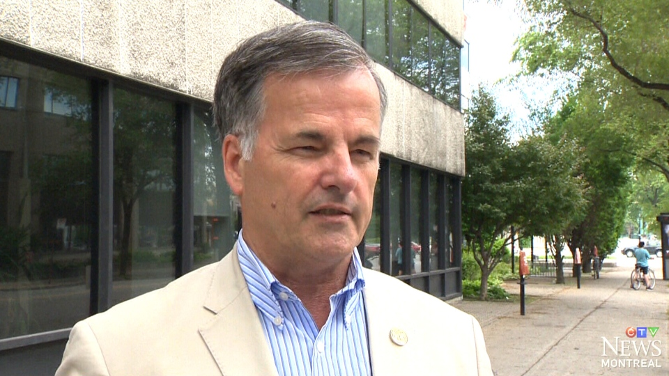 Guy Ouellette is seen in this undated image taken from video.