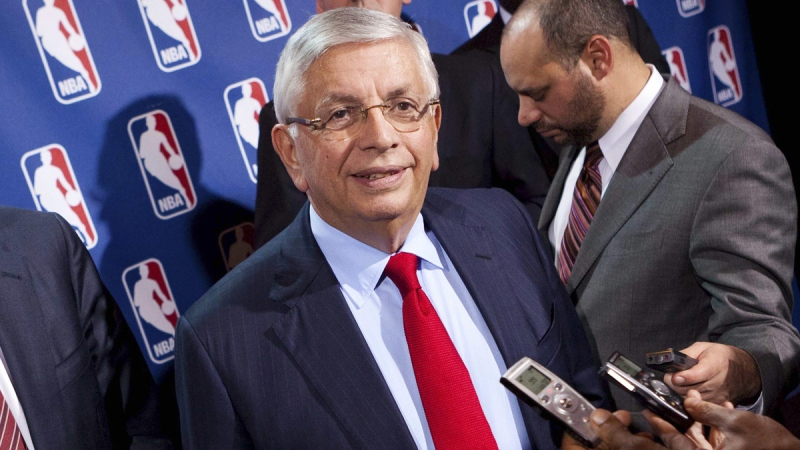 Former NBA Commissioner David Stern in New York, on  Nov. 10, 2011. (John Minchillo / AP)