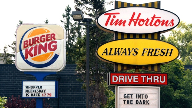 Restaurant Brands profit soars 87%, but Tim Hortons is the laggard