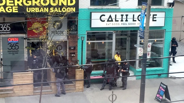 Police investigating after gun scare on King West