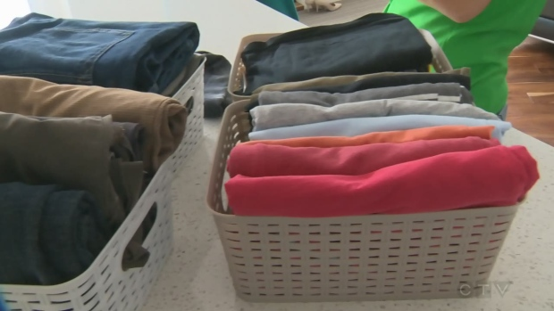 Tips to help declutter your closet