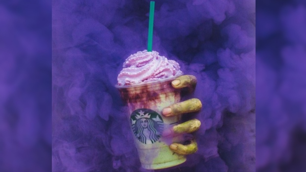 Get Ready For Starbucks' New Zombie Frappuccino