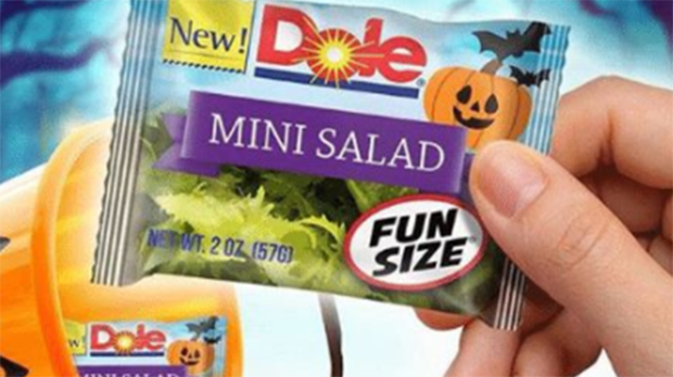 Dole fun size mini salads
