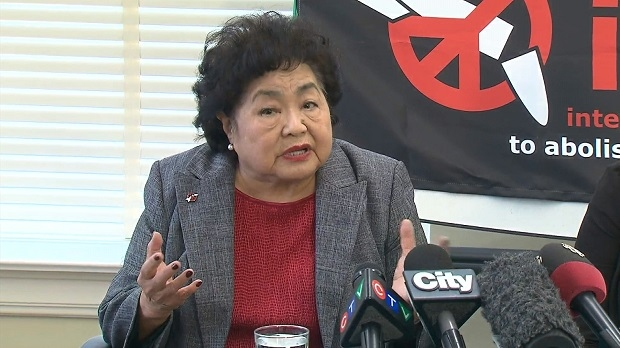 Setsuko Thurlow, 85, says Canada should be doing more to support nuclear disarmament around the world.