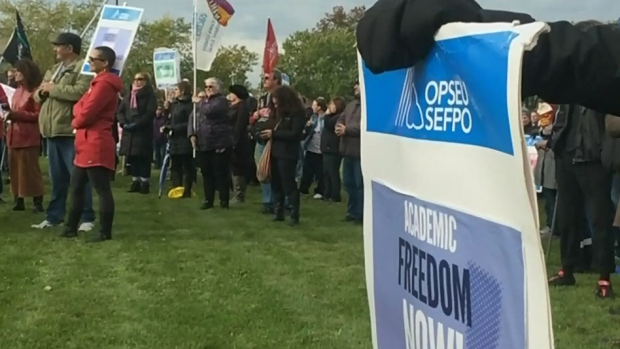 CTV Windsor: College strike