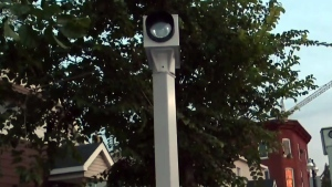 The city revealed Wednesday the intersections where new red light cameras will be installed. The new cameras bring the total to 74 across the city.