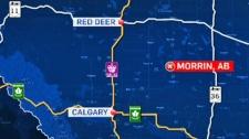 Morrin, Alberta - GoogleMaps
