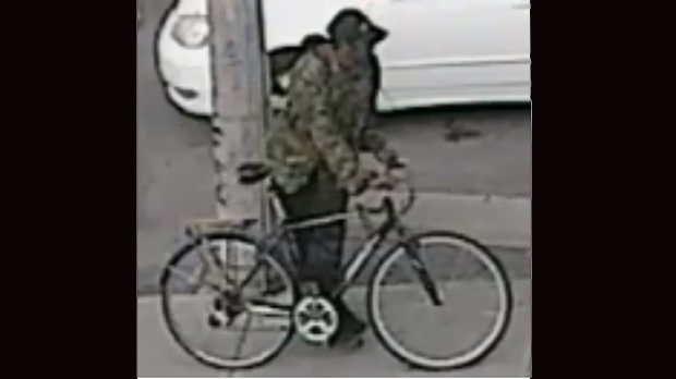 Payphone man with bicycle sought in King St. false gun call