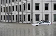 Pebb Building, flooding