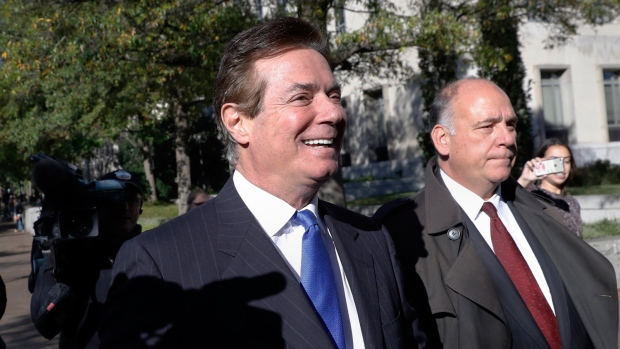 Former Trump campaign chairman pleads not guilty to charges