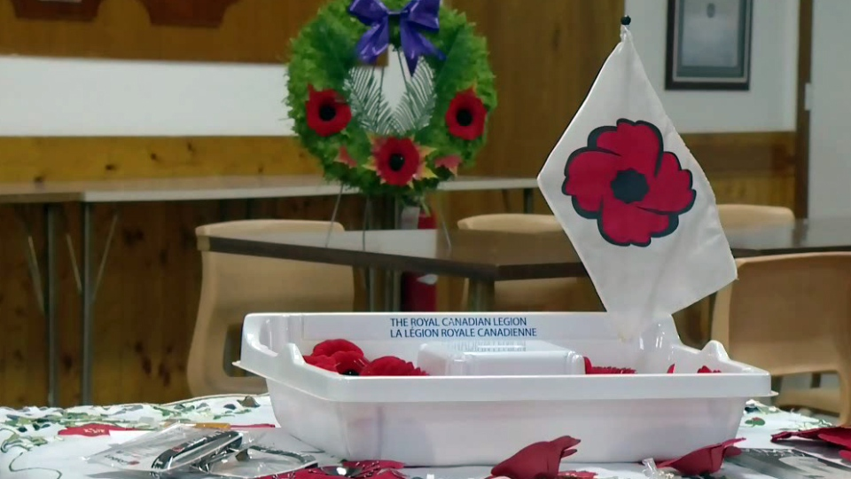 A Nova Scotia legion is up in arms with Dollarama for its refusal to display poppy trays.