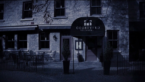 Ghost in the courtyard ctv ottawa news for Courtyard landscaping ottawa