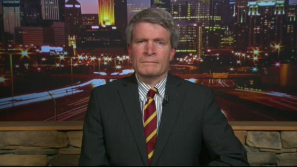 Former White House ethics chief Richard Painter speaks about the Russia investigation from Minneapolis, Minn., on Monday, Oct. 30, 2017.