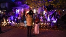 Children trick-or-treat in Ottawa on Halloween, Monday, Oct. 31, 2016. THE CANADIAN PRESS/Justin Tang