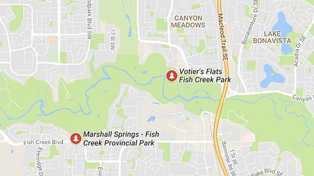 Votier's Flats is a popular day-use area in Fish Creek Park. (Google Maps)