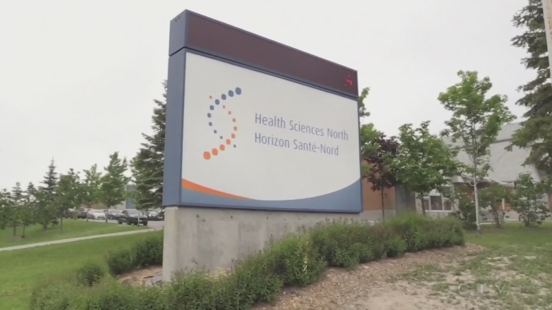 With 15 people in hospital battling COVID-19, Health Sciences North is tightening restrictions on accessing the 6th floor, known as the COVID floor. (File)