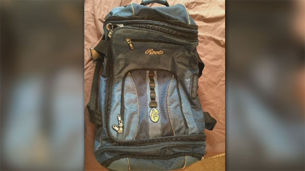 The lost bag looks similar to this one that belongs to his girlfriend.