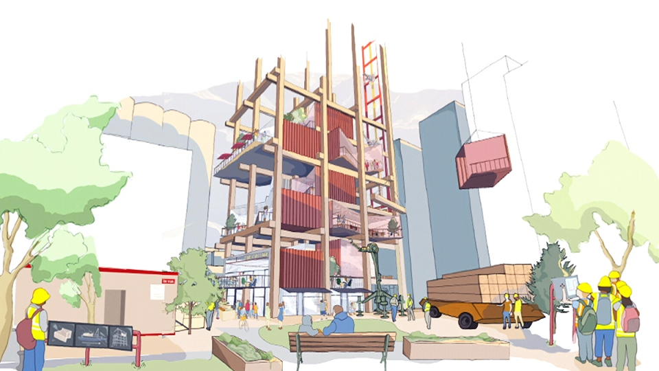 Toronto will soon be home to a flashy high-tech di