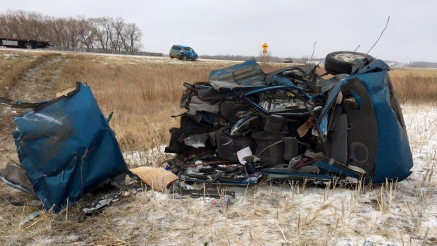 Man killed in crash with gravel truck near Saskatoon