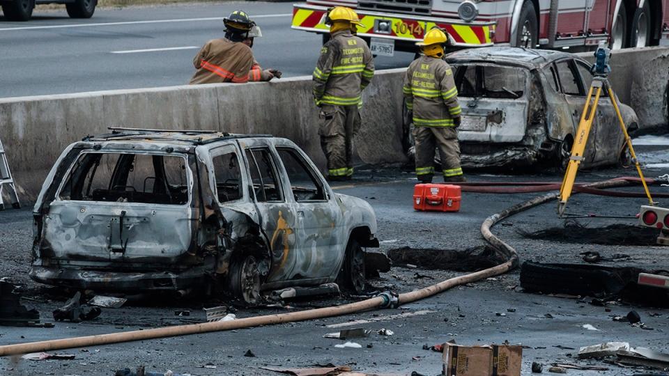 Car Crashes In Ontario Today