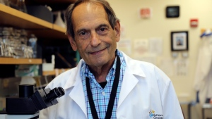 In this image provided by Nationwide Children's Hospital, Dr. Jerry Mendell of the Center for Gene Therapy at Nationwide Children's Hospital in Columbus, Ohio. Mendell led a small study of gene therapy in babies born with a usually fatal neuromuscular disease and reported Nov. 1, 2017. (Barb Consiglio/Nationwide Children's Hospital via AP)