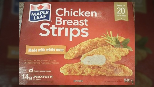 Canadian Food Inspection Agency recalls Maple Leaf chicken after reported illnesses